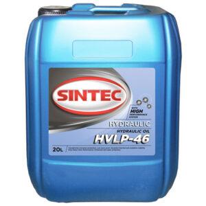 Масло гидравлическое Sintec Hydraulic HVLP 46 канистра 20л/Hydraulic oil