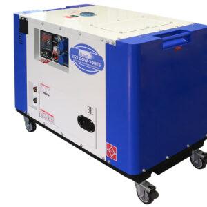 Дизельный сварочный генератор в кожухе TSS DGW-300ES