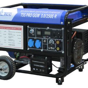 Бензиновый сварочный генератор TSS PRO GGW 3.0/250E-R