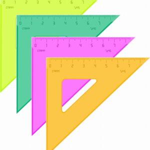"Треугольник 45°, 7см Стамм ""Neon"", ассорти"