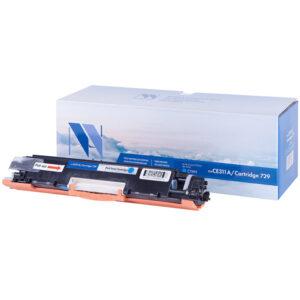 Картридж совм. NV Print CE311A (№126A)/Canon729 голубой для HP Color LJ CP1025/Pro100 M175 (1000стр)