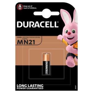 Батарейка Duracell MN21 (23A) 12V алкалиновая, 1BL