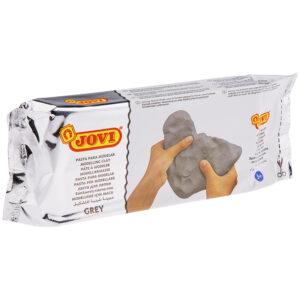 Паста для моделирования JOVI, отвердевающая, серый, 1кг, вакуумный пакет