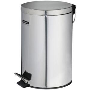 Ведро-контейнер для мусора (урна) OfficeClean Professional,  5л, нержавеющая сталь, хром