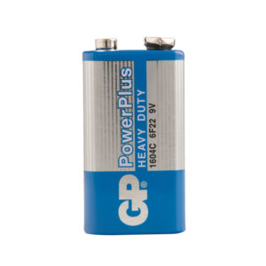Батарейка GP PowerPlus MN1604 (6F22) Крона, солевая, OS1