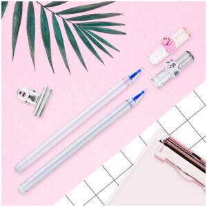 """Ручка гелевая стираемая MESHU """"Cute Cats"""" синяя, 0,5мм, колп.ассорти"""