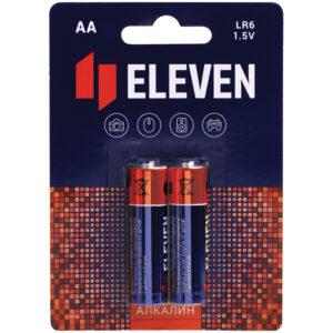 Батарейка Eleven AA (LR6) алкалиновая, BC2