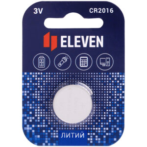 Батарейка Eleven CR2016 литиевая, BC1