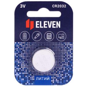 Батарейка Eleven CR2032 литиевая, BC1