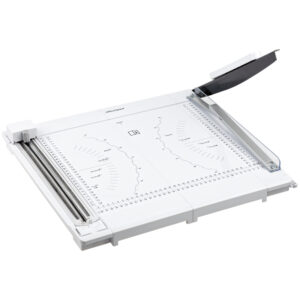 Резак роликовый/сабельный А4 OfficeSpace 320мм, 2в1, до 10л., 3 стиля резки