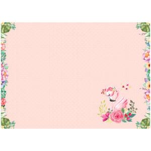 """Клеенка для уроков труда ArtSpace """"Flamingo"""", 50*70см, ПВХ"""