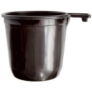 Чашки одноразовые для кофе OfficeClean 200мл, набор 50шт., бюджет, ПП, коричневые, хол/гор