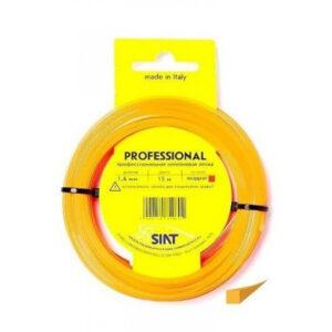 """Леска для триммера Siat """"Professional Siat. Квадрат"""" Ø 1,6 мм х15м, сечение: квадрат"""