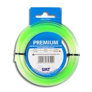 """Леска для триммера Siat """"Premium.Siat. Крученый квадрат"""" Ø 2,0 мм х15м, сечение: крученый квадрат"""
