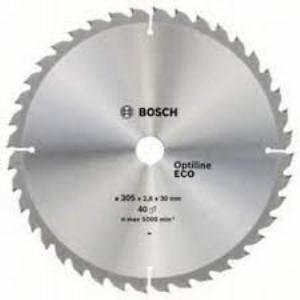 Диск пильный по древесине ?254x2.5х30 мм 40 зубьев Bosch 2.608.641.795 Optiline ECO