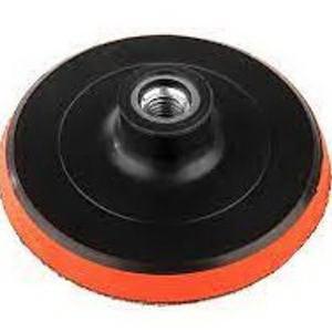 Шлифовальный круг Sturm! 125 мм 9017-02-125  для дрели и болгарки резиновый с липучкой