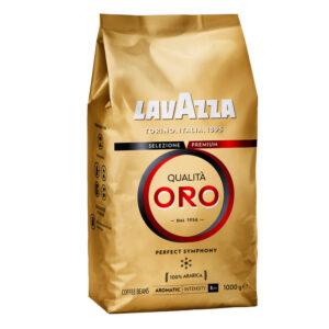 """Кофе в зернах Lavazza """"Qualità. Oro"""", вакуумный пакет, 1кг"""