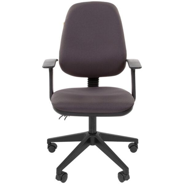 Кресло оператора Chairman 661 PL (SL), ткань темно-серая, механизм качания спинки