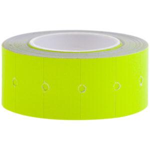Этикет-лента OfficeSpace, 21*12мм, желтая, 500 этикеток