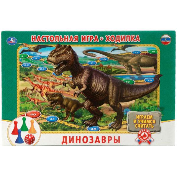 """Игра настольная Умка """"Ходилка. Динозавры"""""""