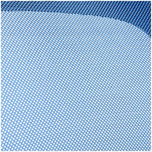 """Кресло оператора Helmi HL-M04 """"Active"""", ткань, спинка сетка синяя/сиденье TW черн, рег.подлокот,хром"""