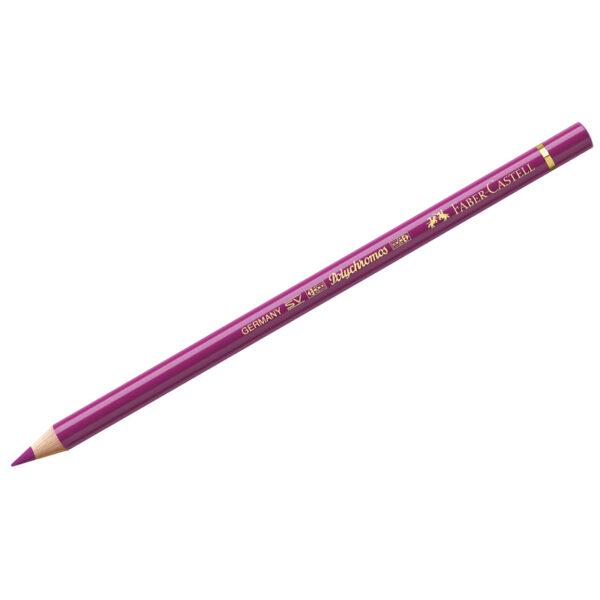 """Карандаш художественный Faber-Castell """"Polychromos"""", цвет 125 пурпурно-розовый средний"""