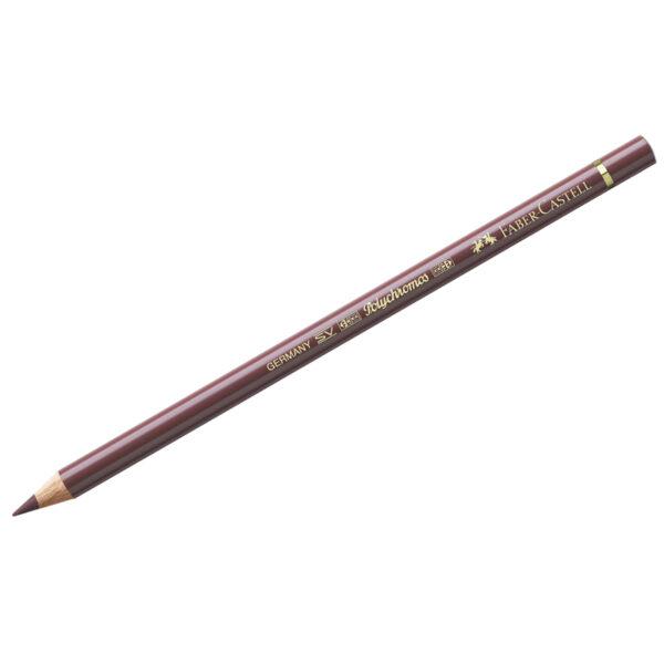 """Карандаш художественный Faber-Castell """"Polychromos"""", цвет 169 красно-коричневый"""