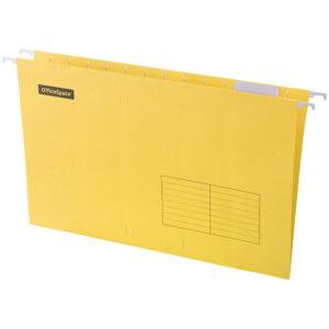 Подвесная папка OfficeSpace Foolscap (365*240мм), желтая