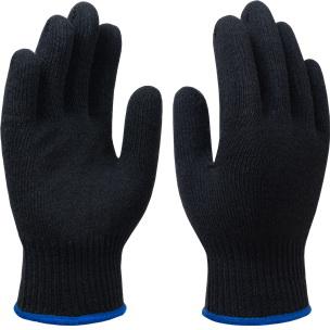 Перчатки трикотажные СПЕЦ-SB®-10 класс, 55 гр, черные