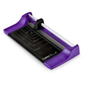 Резак роликовый А4 Dahle Color ID 507, 320мм, до 8 листов, фиолетовый, металлическое основание