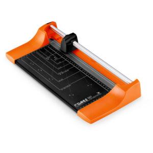 Резак роликовый А4 Dahle Color ID 507, 320мм, до 8 листов, оранжевый, металлическое основание