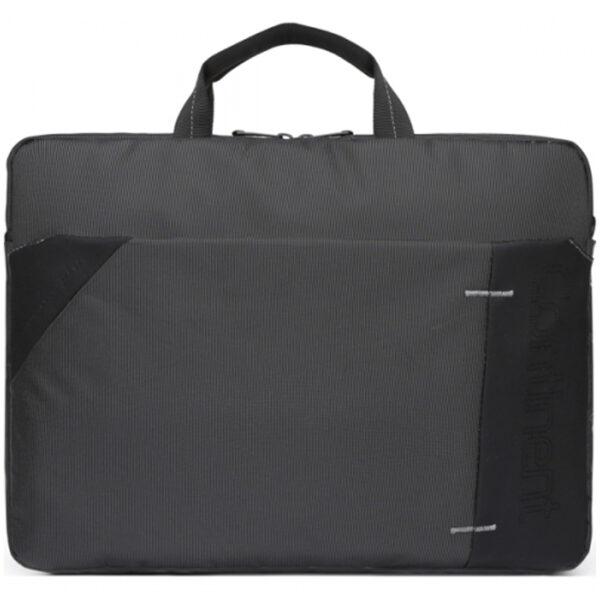 """Сумка для ноутбука 15,6"""" Continent CC-205 GA полиэстер, нейлон, серый, 400*300*60мм"""