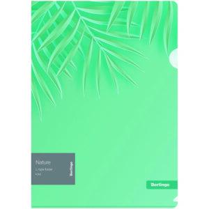 """Папка-уголок Berlingo """"Nature"""" А4, 200мкм, с рисунком"""