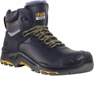 Ботинки iForm® ORIGINAL (ОРИДЖИНАЛ) с КП и КС нат мех, кожаные ПУ/нитрил