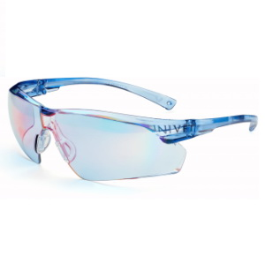 Очки UNIVET™505UP(505U.00.00.37),голубые,покрытиеAS/AF