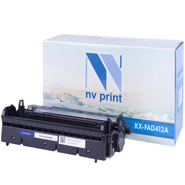 Барабан совм. NV Print KX-FAD412A черный для Panasonic KX-MB1900/MB2000/MB2020/MB2030 (6000стр)