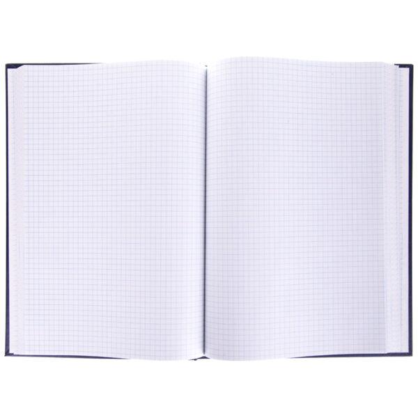 Книга учета OfficeSpace, А4, 192л., клетка, 200*290мм, бумвинил, блок офсетный