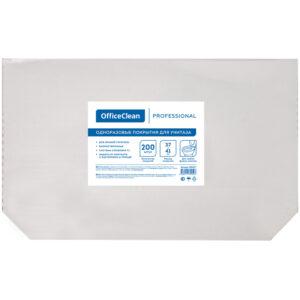 Покрытия на унитаз OfficeClean Professional (Система V1), 1/2 сложения, 200шт, 37*41см