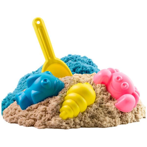 """Игровой набор Волшебный песок """"Океан"""", песочный, голубой, 1кг"""