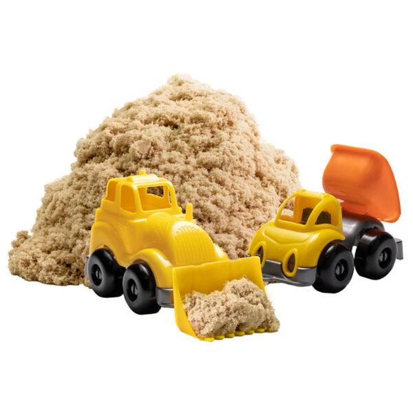 """Игровой набор Волшебный песок """"Стройка"""", песочный, 1кг"""