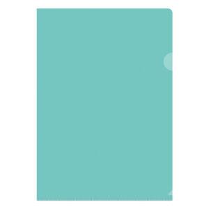 Папка-уголок OfficeSpace, А4, 150мкм, прозрачная зеленая